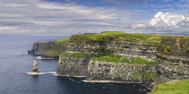 Kliffen van Moher Ierland