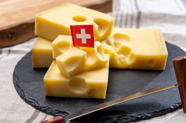Zwitserse Emmentaler kaas