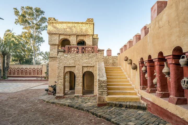 de Medina van Agadir Marokko