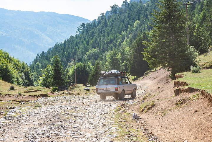 wegen in Albanië