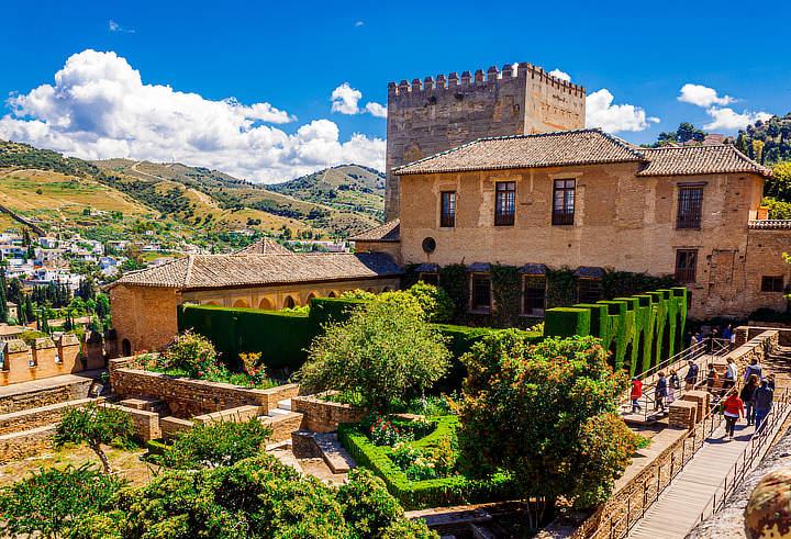 werelderfgoed Granada Andalusië