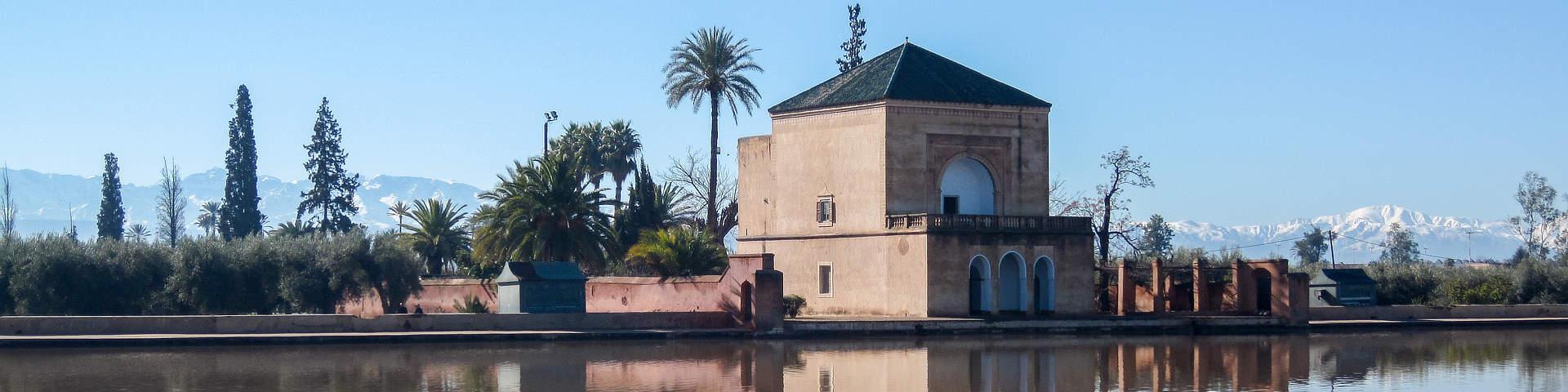 Menara tuinen Marrakech Marokko